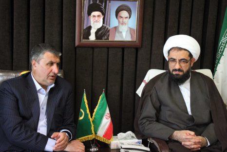 دیدار با محمد اسلامی وزیر راه و شهرسازی