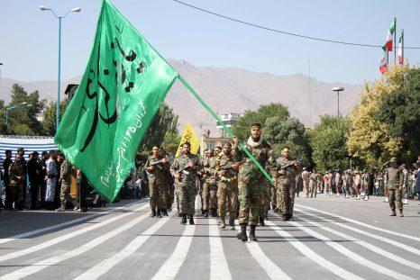 مراسم رژه نیروهای مسلح و یگانهای نمونه نظامی همدان