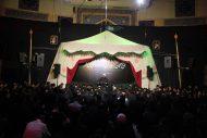 مراسم عزاداری حسینیه امام خمینی (ره)