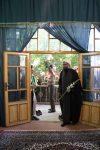 ادای احترام به مقام شهیدمدنی در همدان